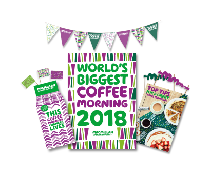 Image result for macmillan cancer worlds biggest coffee morning 2018