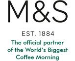 M&S The official partner of the World's Biggest Coffee Morning